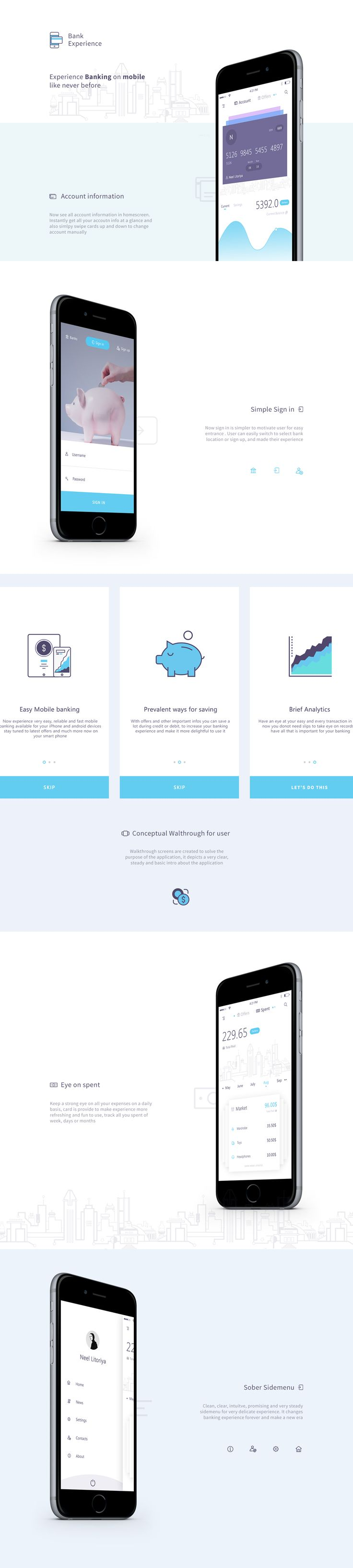Bank Experience on Behance