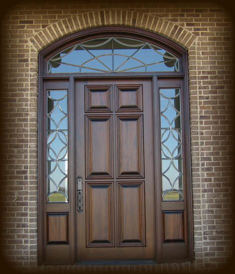 Exterior Wood Front Entry Doors Style