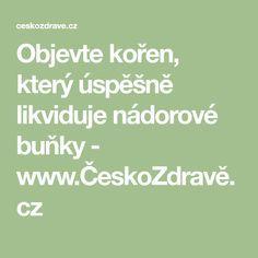 Objevte kořen, který úspěšně likviduje nádorové buňky - www.ČeskoZdravě.cz