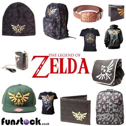 "We have a great selection of Zelda-branded merchandise, including caps, bags, T-shirts, wallets, purses and belts.   http://www.funstock.co.uk/merchandise/the-legend-of-zelda-merchandise  Use code ""PINFUN"" for 5% off!  #retrogaming #zelda #legendofzelda #giftideas"
