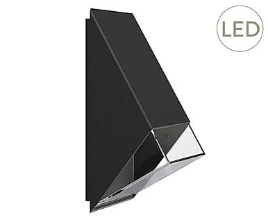 "Kinkiet ""Edge Black"", 10 x 20 cm"