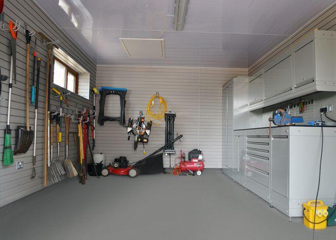 Garage Wall Storage & Storewall Storage from Dura Garages