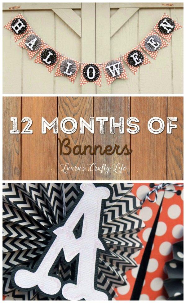 October Halloween Banner - 12 Months of Banners Series