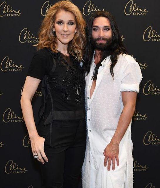 Δύο νικήτριες της Eurovision συναντήθηκαν χτες στο Βερολίνο...