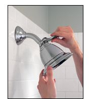 How to switch out a showerhead - fixed mount and handheld instructions from Home Depot