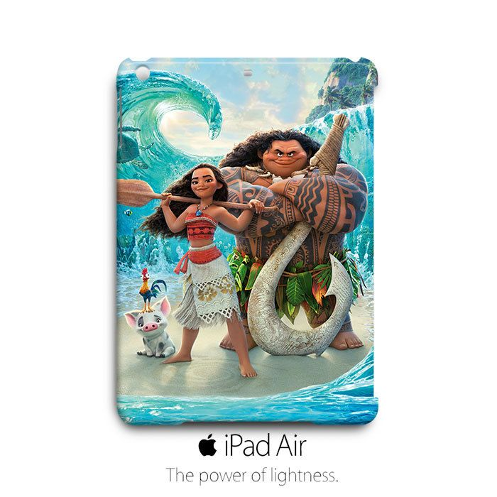 Moana Maui Pua Heihei iPad Air Case Cover Wrap Around