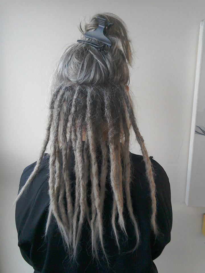 partial dreadlocks - loose hair