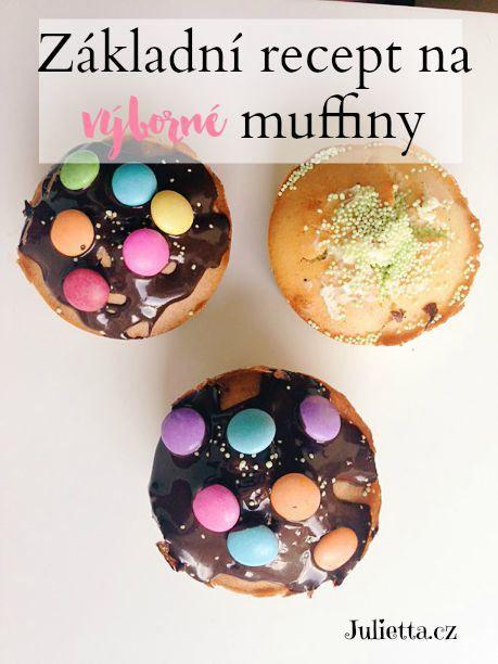 recept na muffiny pro děti
