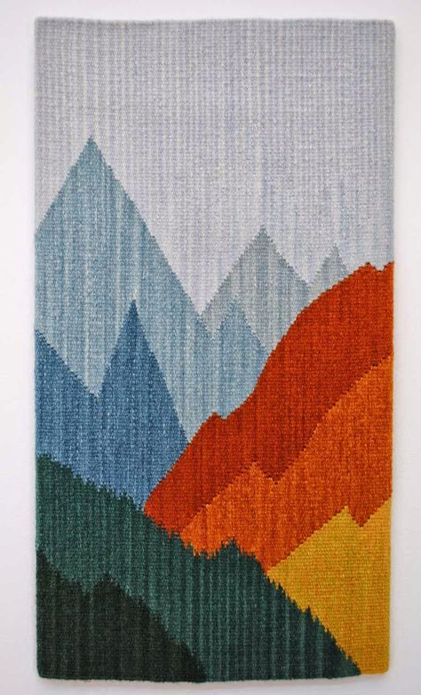 Rebecca Mezoff, Tapestry Artist: Kaneko: The tapestry of ATB10; Sarah Warren, October Rain