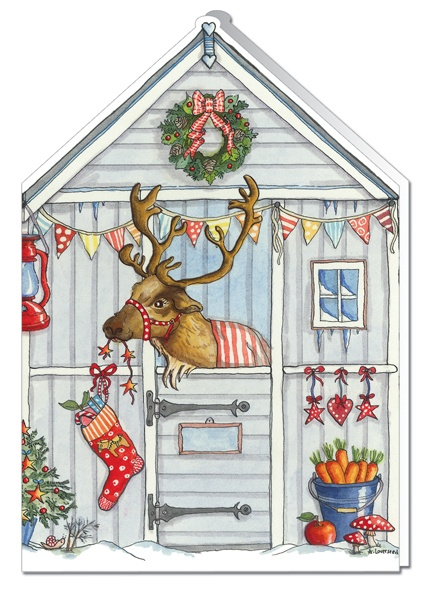 Reindeer Stables card