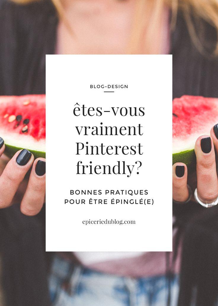 Un petit guide pour vous aider à devenir Pinterest Friendly et ramener du trafic de qualité sur votre blog !