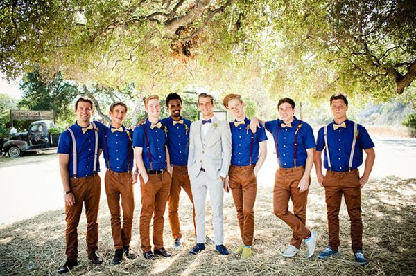 In this installment of The Wedding Scoop Spotlight, Dharma Sadasivan, our resident dapper lad, sheds some light on 6 great men's style trends for inherently cool grooms and groomsmen wedding looks!