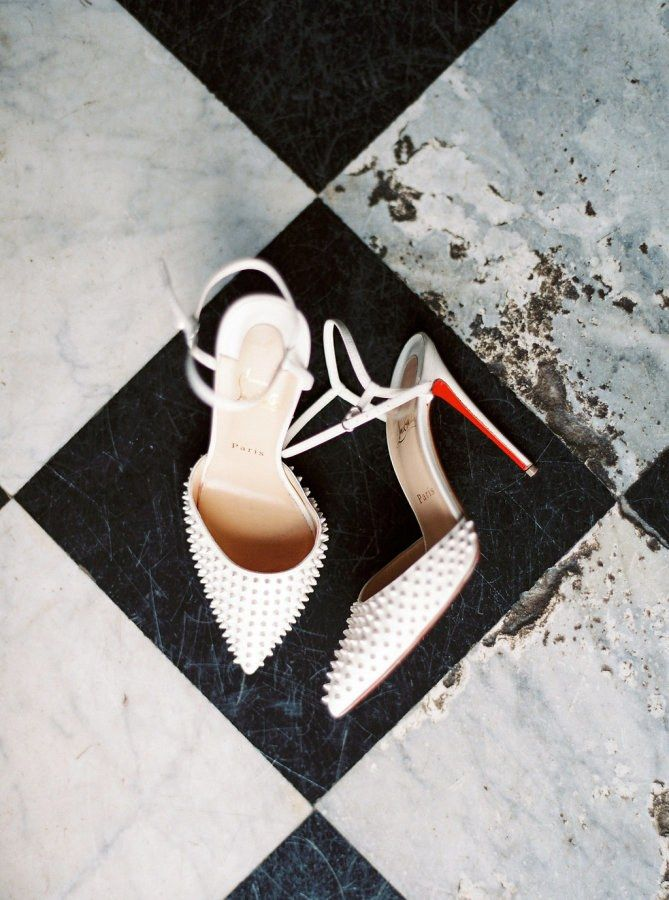 These 30 Real Brides Wore the Coolest Shoes