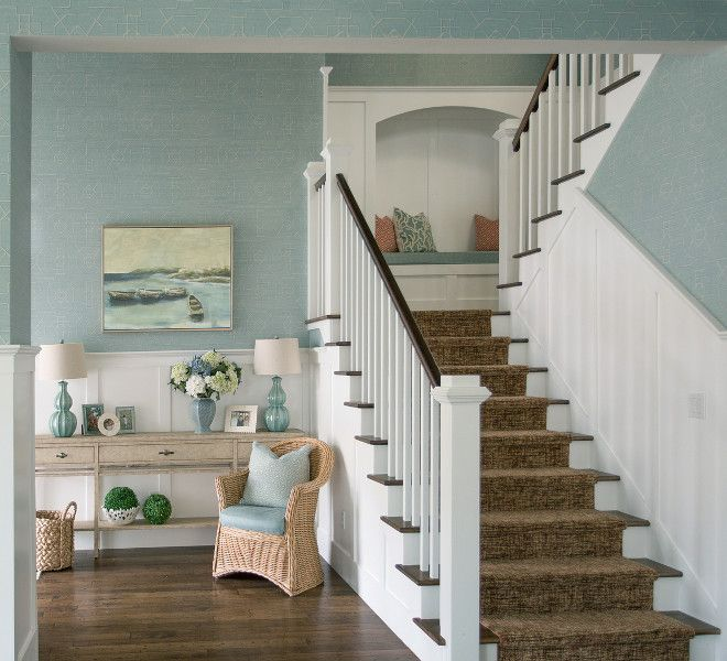 31 Stair Decor Ideas To Make Your Hallway Look Amazing: Best 25+ Coastal Entryway Ideas On Pinterest