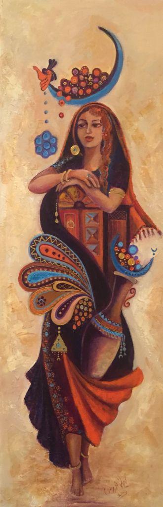 Beautiful Baghdad art paintings