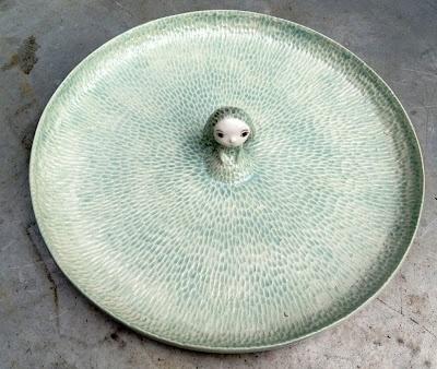 super idée pour un plateau à fromage !: Ceramics Plates, Cute Ideas, Ceramic, Nathalie Choux, Nathali Choux, Natalie Choux, Ceramics Ideas, Decor Plates