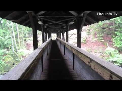 De Irreler Wasserfälle, de watervallen van Irrel in de Eifel
