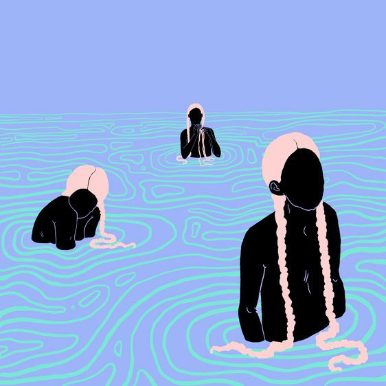 Illustrations - Sara Andreasson, curated by Christophe on Buamai.