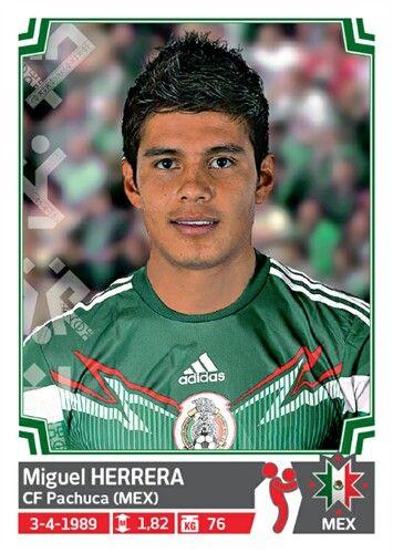 050 Miguel Herrera - Mexico - Copa America Chile 2015 - PANINI