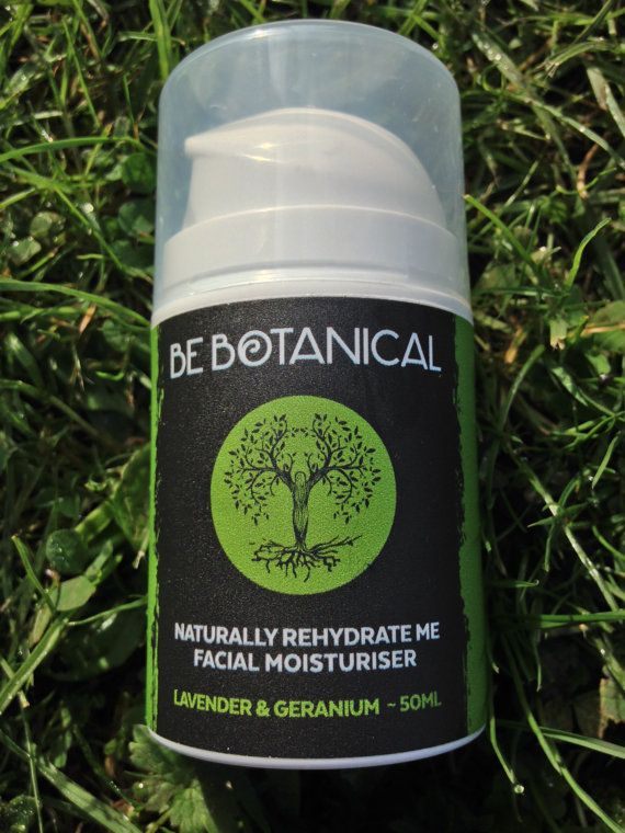 Lavender & Geranium Be Botanical Naturally Rehydrate Me Facial