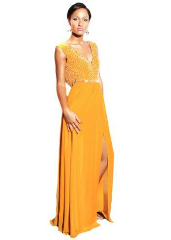Virgos lounge yellow nicola dress