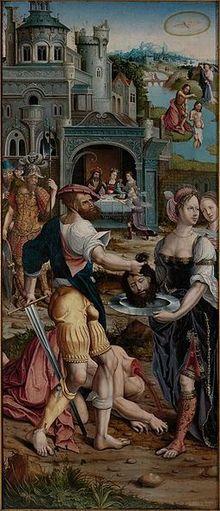 Beheading of St. John the Baptist - Wikipedia, the free encyclopedia