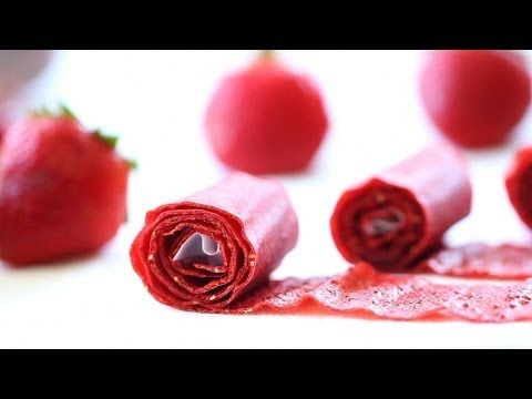 Homemade strawberry leather or roll-ups | Buona Pappa
