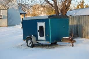 5X10 Cargo Trailer Camper - Bing