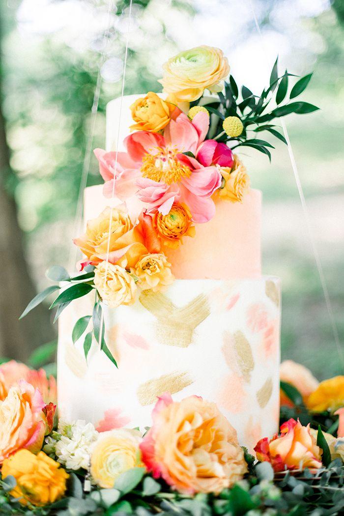 Summer Brunch Vibes voor een kleurrijk huwelijk