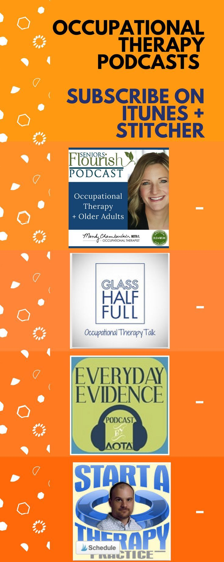 Check out these #OT podcasts - always learning and growing! @AOTAinc @ScottHarmon7 #OTpodcast