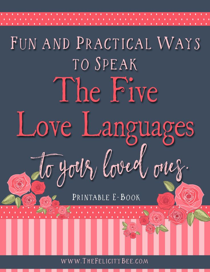 5 love languages for parents test pdf