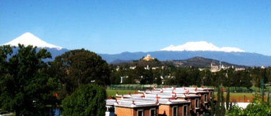 Studied at the Universidad de las Americas in Cholula, Puebla, Mexico. Loved it.