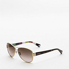 Kristina Coach Sunglasses... my next purchase, since I lost my other sunglasses :(