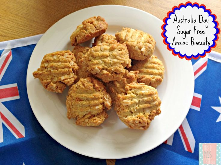 What Australia means to me and a Sugar Free-Anzac biscuit recipe for Australia Day