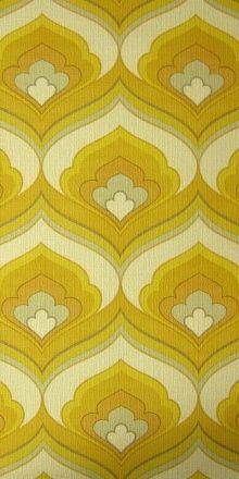 vintage wallpaper … so hässlich das es fast wie…