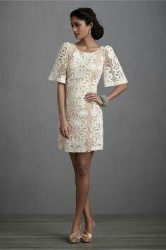 Lace filipiniana dress