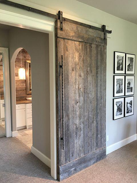 2726 best barn door images on pinterest barn doors - Reclaimed wood interior barn doors ...