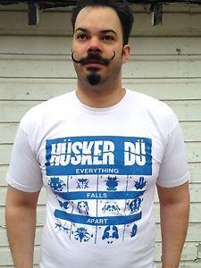 Vtg Husker Du t-shirt Everything Falls Apart alternative punk rock Replacements