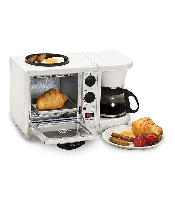 Look at this White Elite Cuisine 3-in-1 Multifunction Breakfast Station on #zulily today!