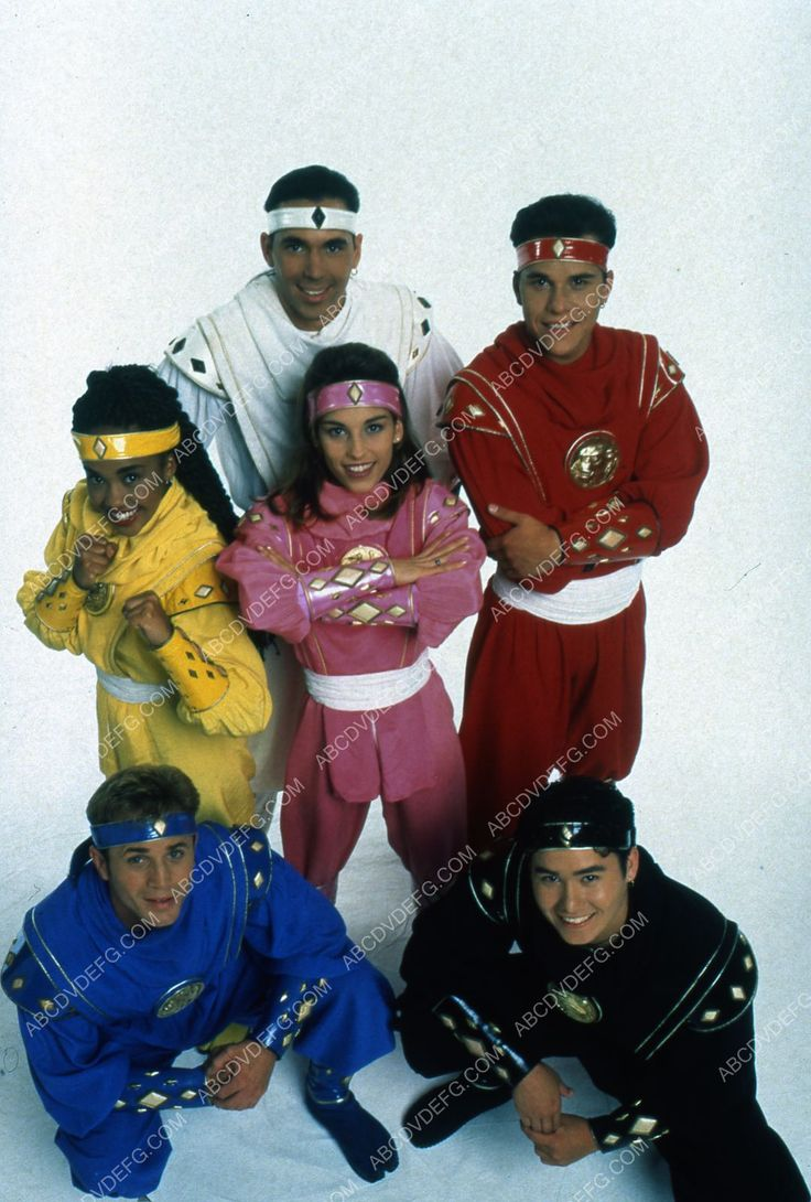 Karan Ashley David Yost Amy Jo Johnson Steve Cardenas Mighty Morphin Power Rangers 35m-6661