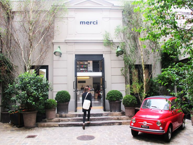 Continue your morning at the Merci conceptstore, which you'll find nearby. http://www.merci-merci.com
