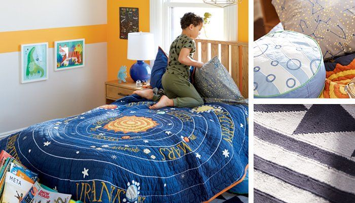 Shop All Solar Systems Go Bedding, Cargo Nightstand (Natural), Cargo Low Footboard Bed (Natural), Gumball Lamp (Blue), Bronty Wall Art, Jungle Tiger Wall Art, Simple Geometry Rug and more