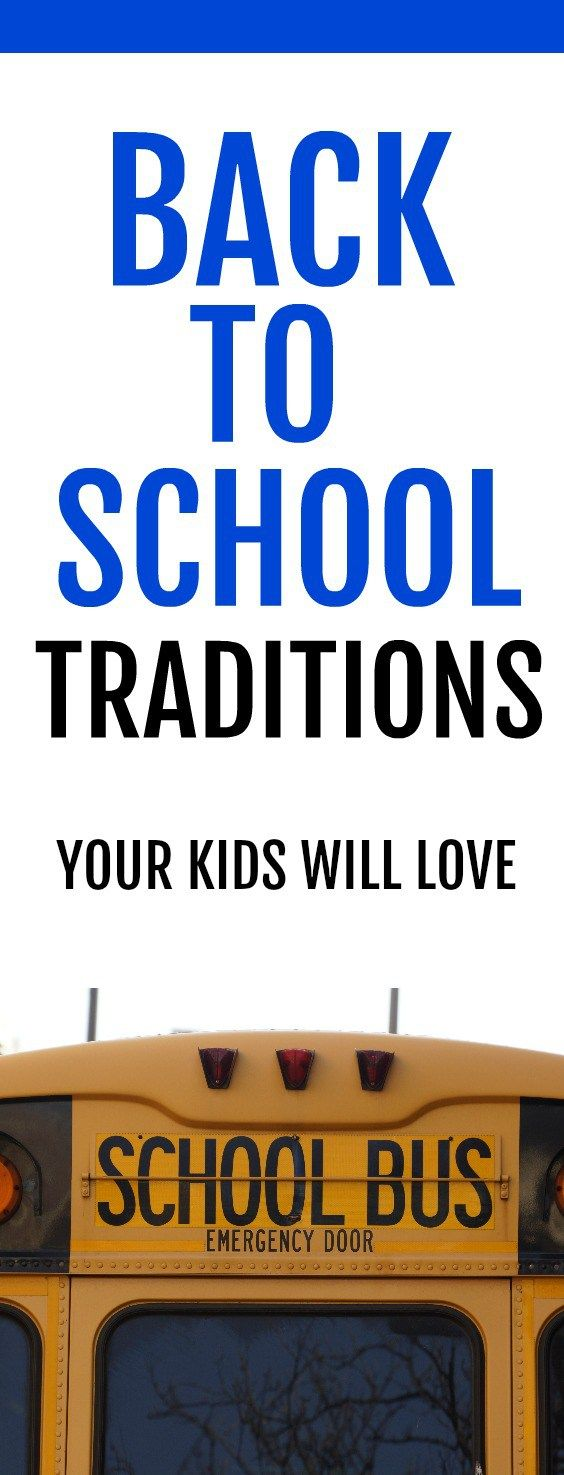 12 cute back-to-school activities and traditions to celebrate the start of the year. Start the semester off on a great note with these fun ideas for kids.