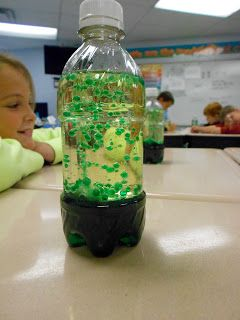 Mrs. McDonald's 4th Grade: Science Club: Homemade Lava Lamps!  Great way to teach density!