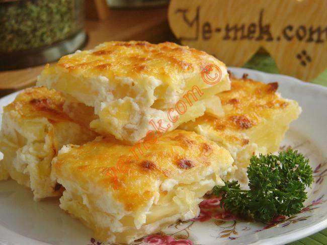 Labneli Patates Graten Resmi