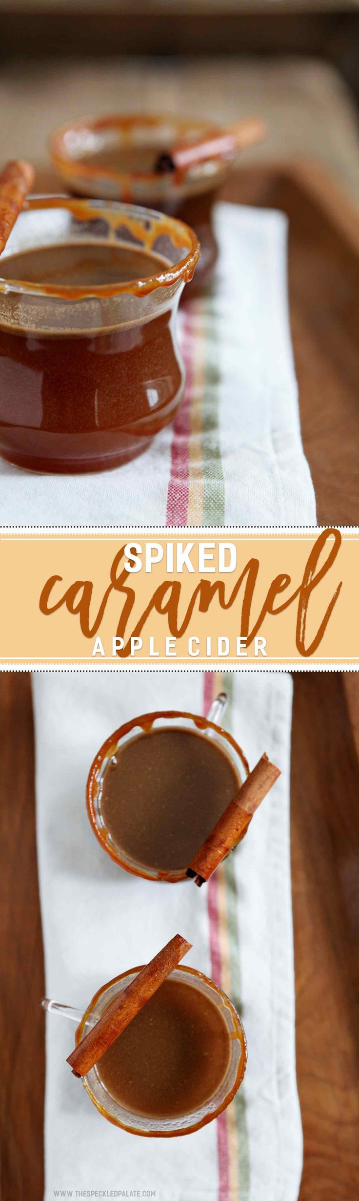 Apple Cider Drink | Fall Drink | Spiked Cider | Bourbon Drink | Caramel Drink | Halloween Drink | Halloween Cocktail | Tailgate Cocktail | Drink Recipe | Warm Fall Drink | Warm Drink | Comforting Drink