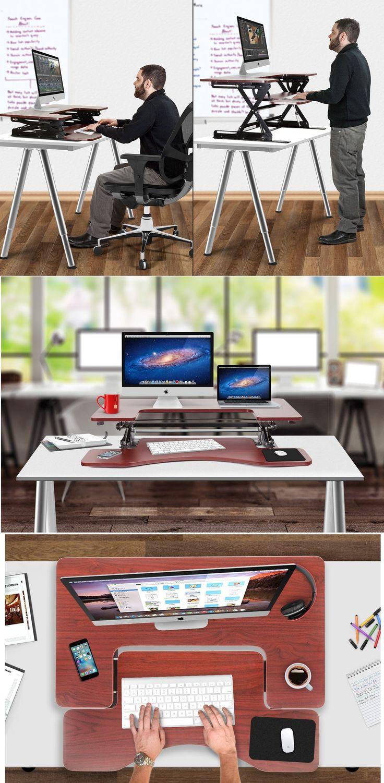 Preassembled Height Adjustable Desk   Craze Trend