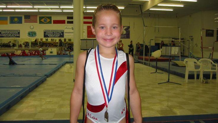Olympian in the making:Madison Kocian/NBC Olympics