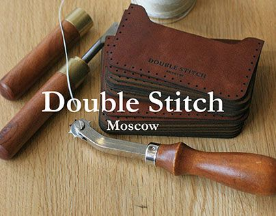 """Check out new work on my @Behance portfolio: """"Double Stitch"""" http://on.be.net/1RqVGTn"""