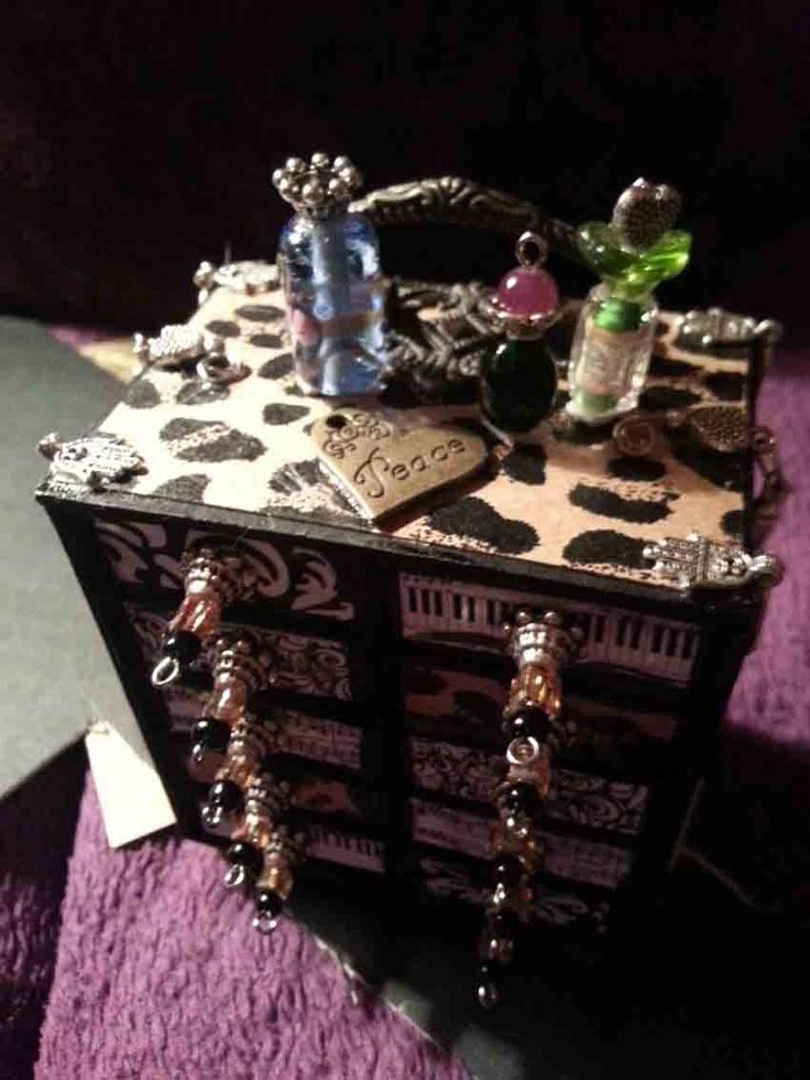 I made this for my bff, it was my first attempt at match box craft. Creating something out of different kinds of beads and metals, is very rewarding.